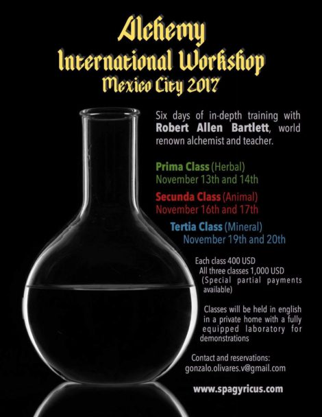Alchemy International Workshop