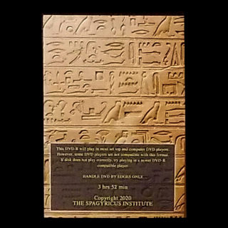 Egyptian Magic DVD Back Cover